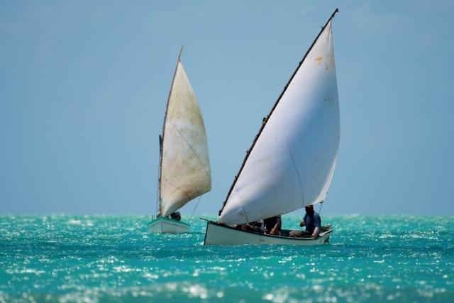 Fischerboote Insel Rodrigues