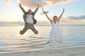 Hochzeit im Lux Le Morne Mauritius im August 2012