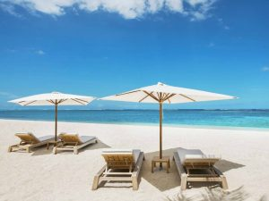 Perfekter Strand für anspruchsvolle Gäste