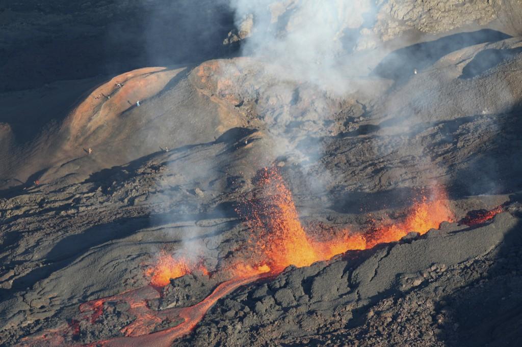 Eruption volcan août 2015