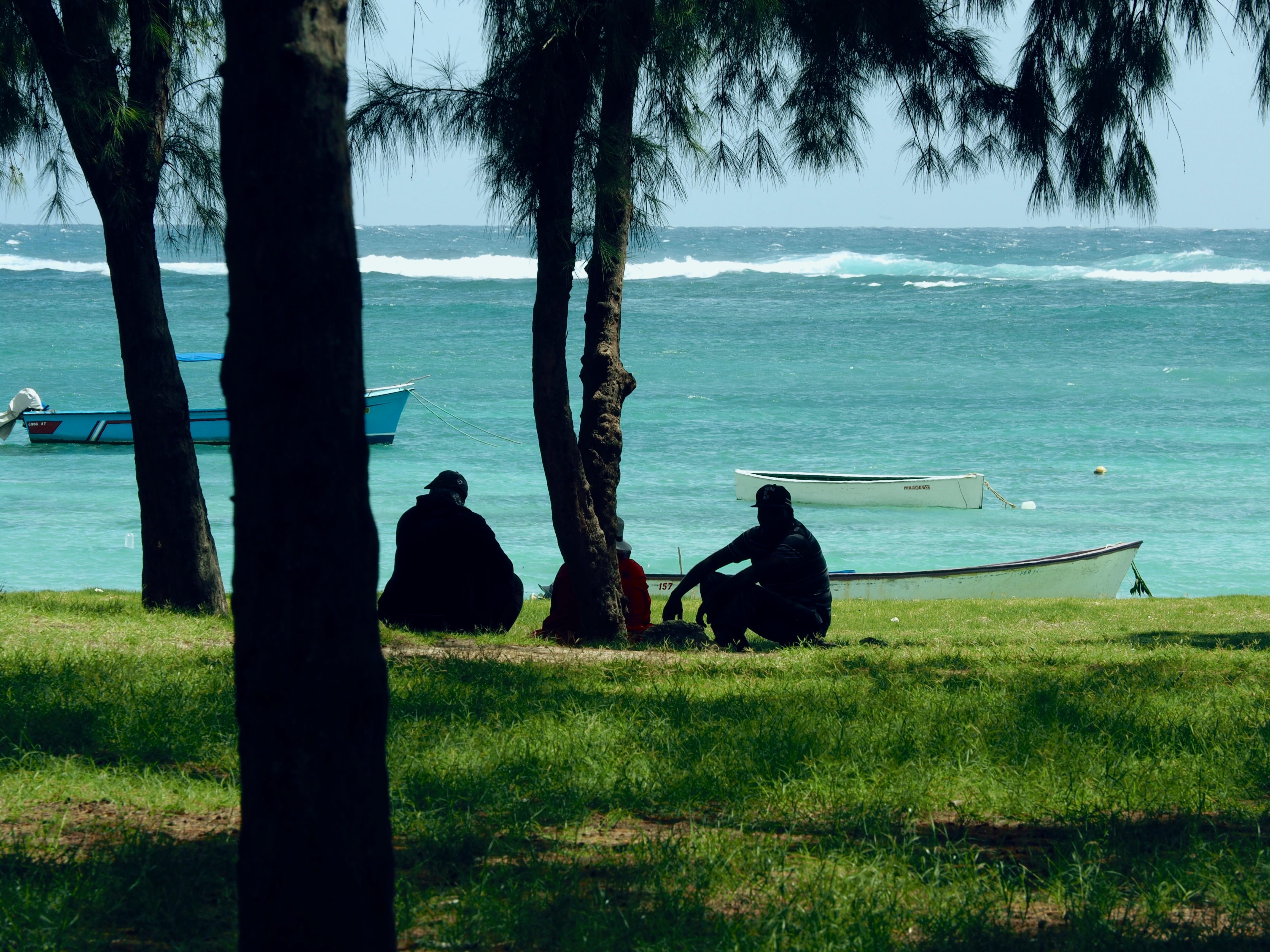 Menschleere Strände auf der Insel Rodrigues