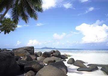 Seychellen-Reise buchen 2016 Inselhopping Seychellen Natur  mit 5 Tagen Praslin 5 Tagen Mahe und 5 Tagen auf der Insel Silhouette